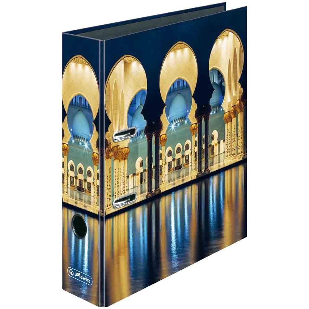 Herlitz Motivordner Moschee 80 mm DIN A4
