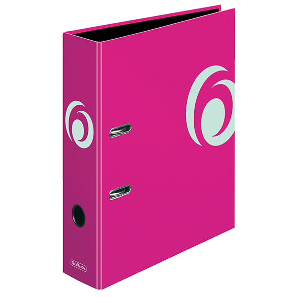 Herlitz Ordner Fresh Colour cool pink 80 mm DIN A4 maX.file