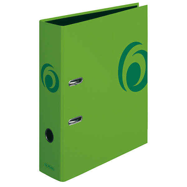 Herlitz Ordner Fresh Colour grün 80 mm DIN A4 maX.file