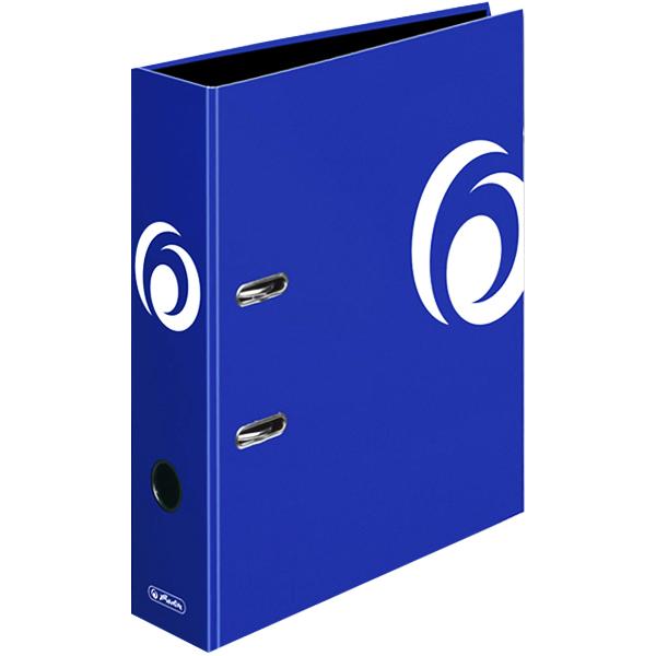 Herlitz Motivordner Fresh Colour intense blue 80 mm DIN A4