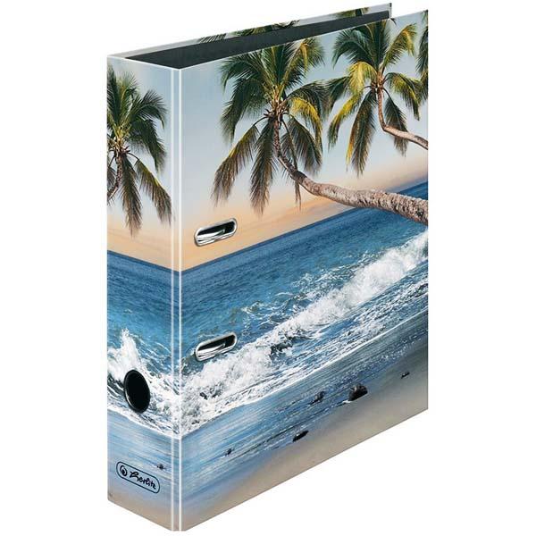 herlitz ordner strandpalmen 80 mm din a4. Black Bedroom Furniture Sets. Home Design Ideas