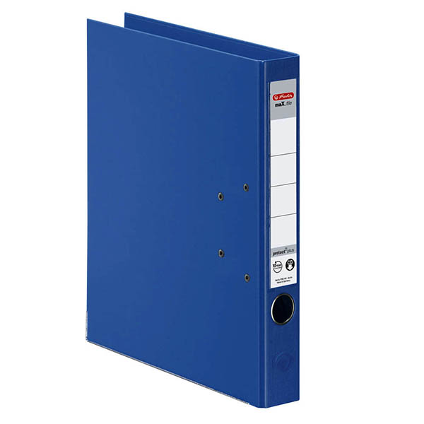 Herlitz Ordner blau 50 mm DIN A4 maX.file protect plus