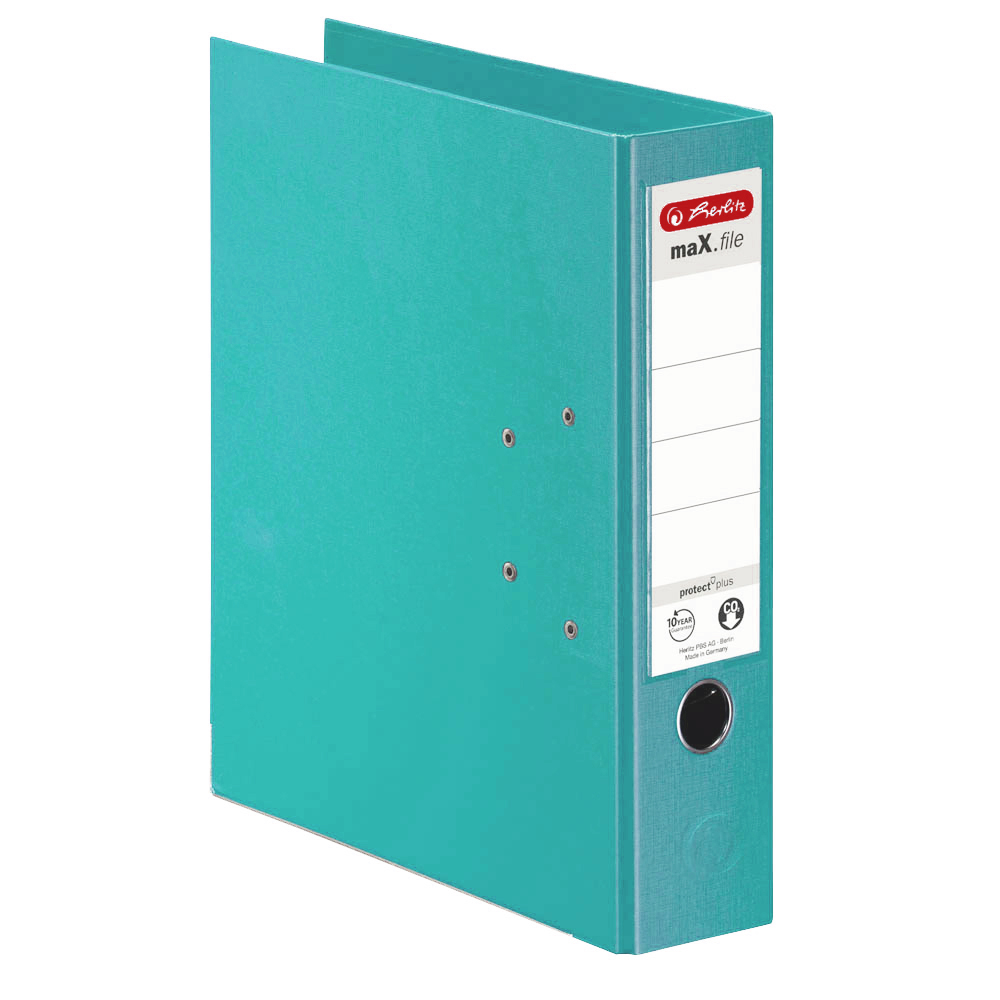 Herlitz Ordner mint 80 mm DIN A4 maX.file protect plus