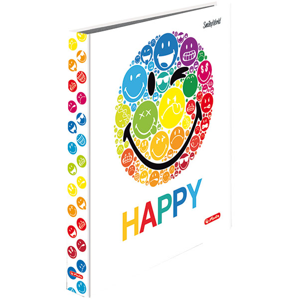 Herlitz Ringbuch A4 SmileyWorld Rainbow 40 mm 2 Ringe