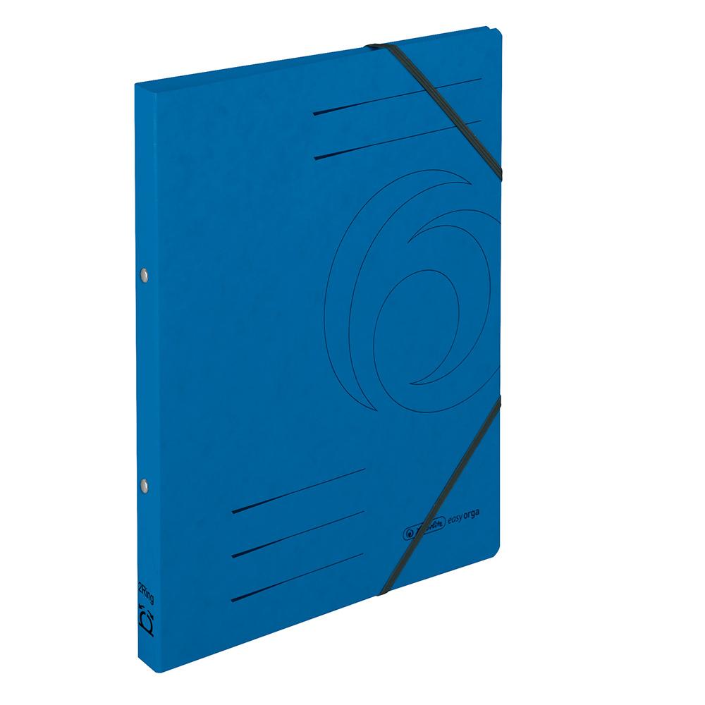 Herlitz Ringhefter Easy Orga DIN A4 Colorspan blau 25 mm