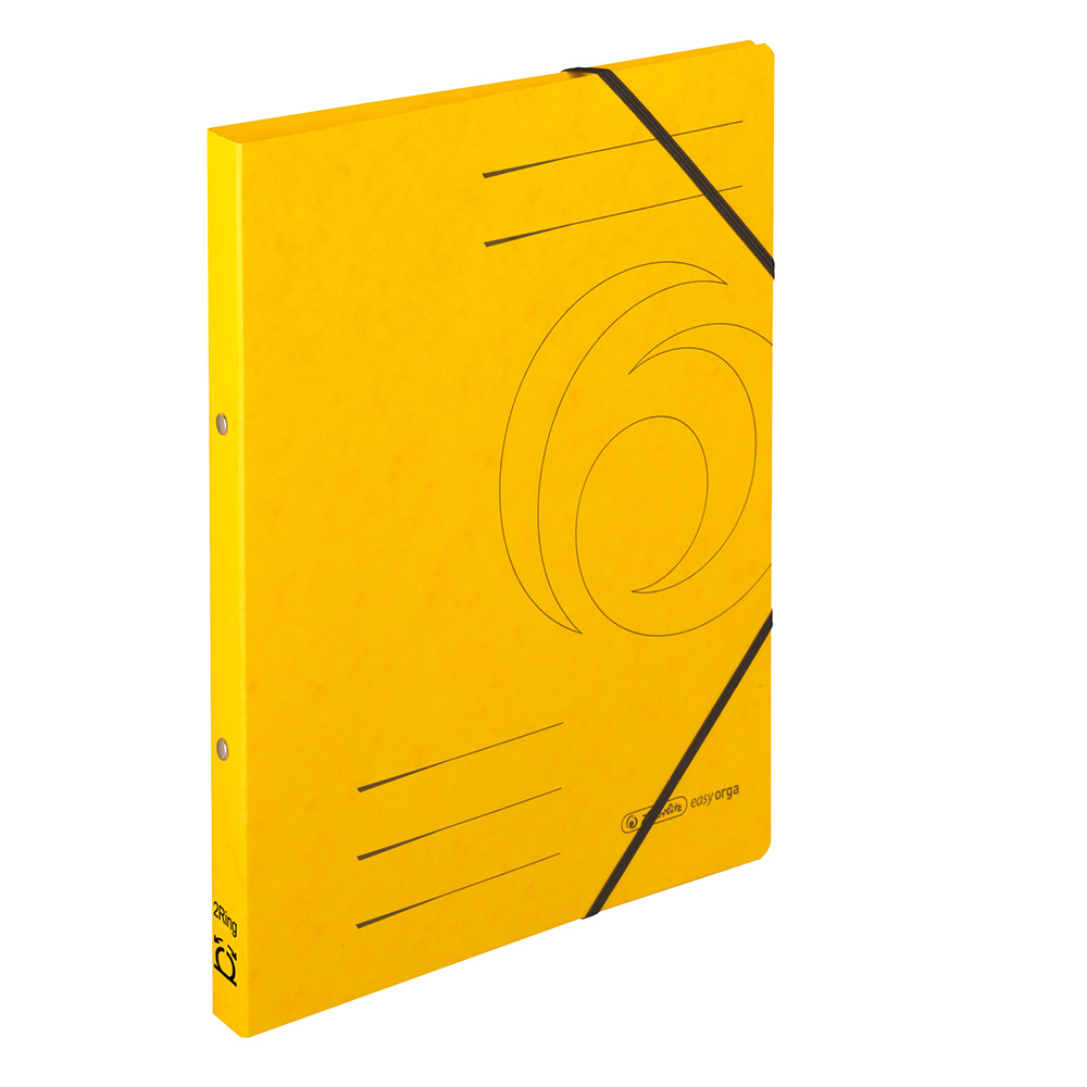 Herlitz Ringhefter Easy Orga DIN A4 Colorspan gelb 25 mm
