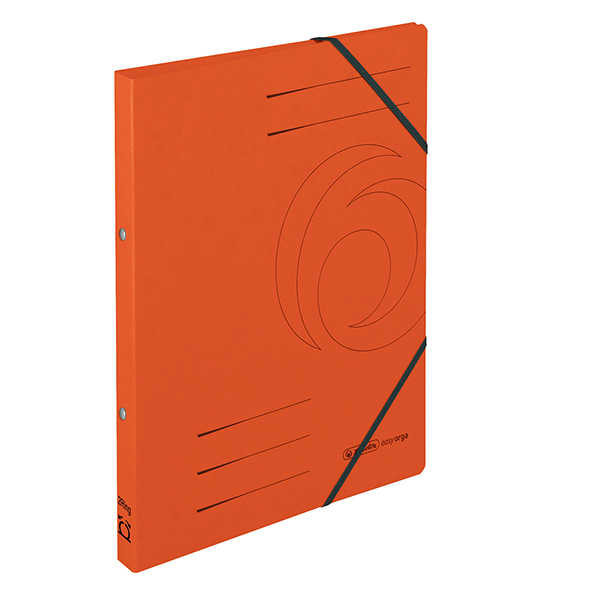 Herlitz Ringhefter Easy Orga DIN A4 Colorspan orange 25 mm
