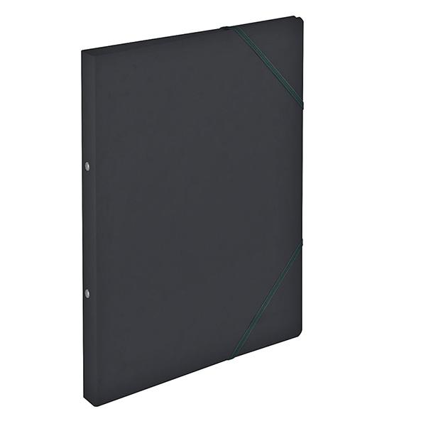 Herlitz Ringhefter Easy Orga DIN A4 Colorspan schwarz 25 mm