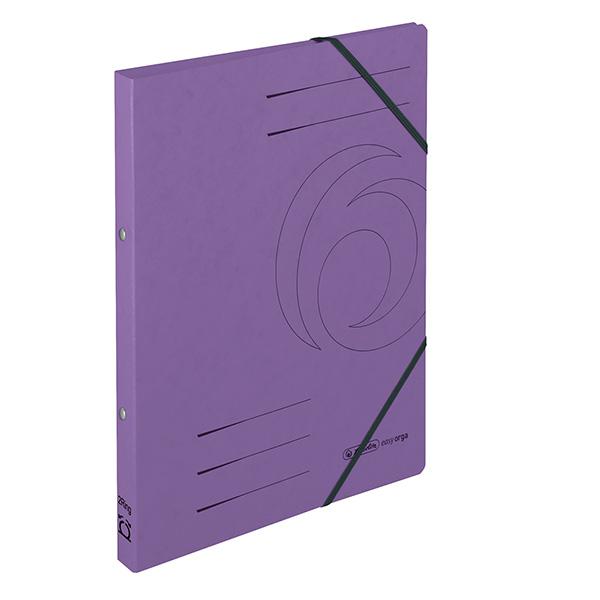 Herlitz Ringhefter Easy Orga DIN A4 Colorspan violett 25 mm