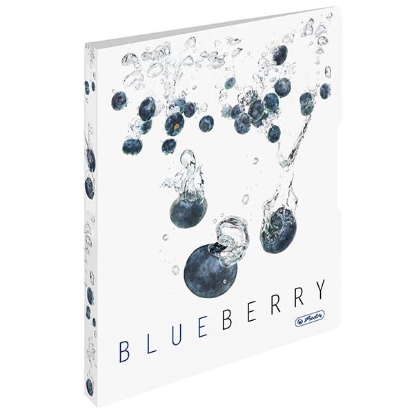 Herlitz Ringbuch Fresh Fruit Blaubeere DIN A4 PP 28 mm
