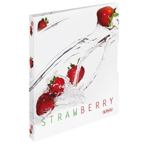 Herlitz Ringbuch Fresh Fruit Erdbeere DIN A4 PP 28 mm