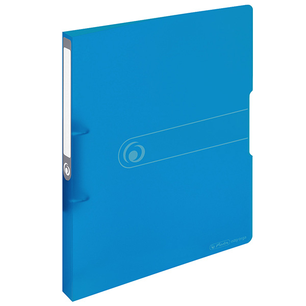 Herlitz Ringbuch Easy Orga to go DIN A4 PP transparent blau 28 mm