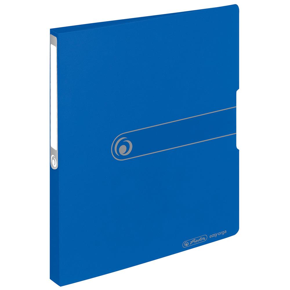 Herlitz Ringbuch PP A4 blau 28 mm 2 Ringe