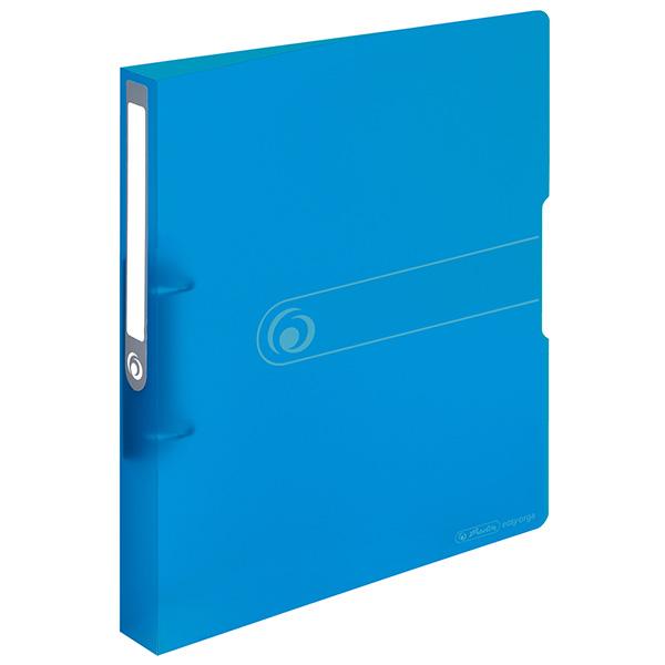 Herlitz Ringbuch Easy Orga to go DIN A4 PP transparent blau 38 mm