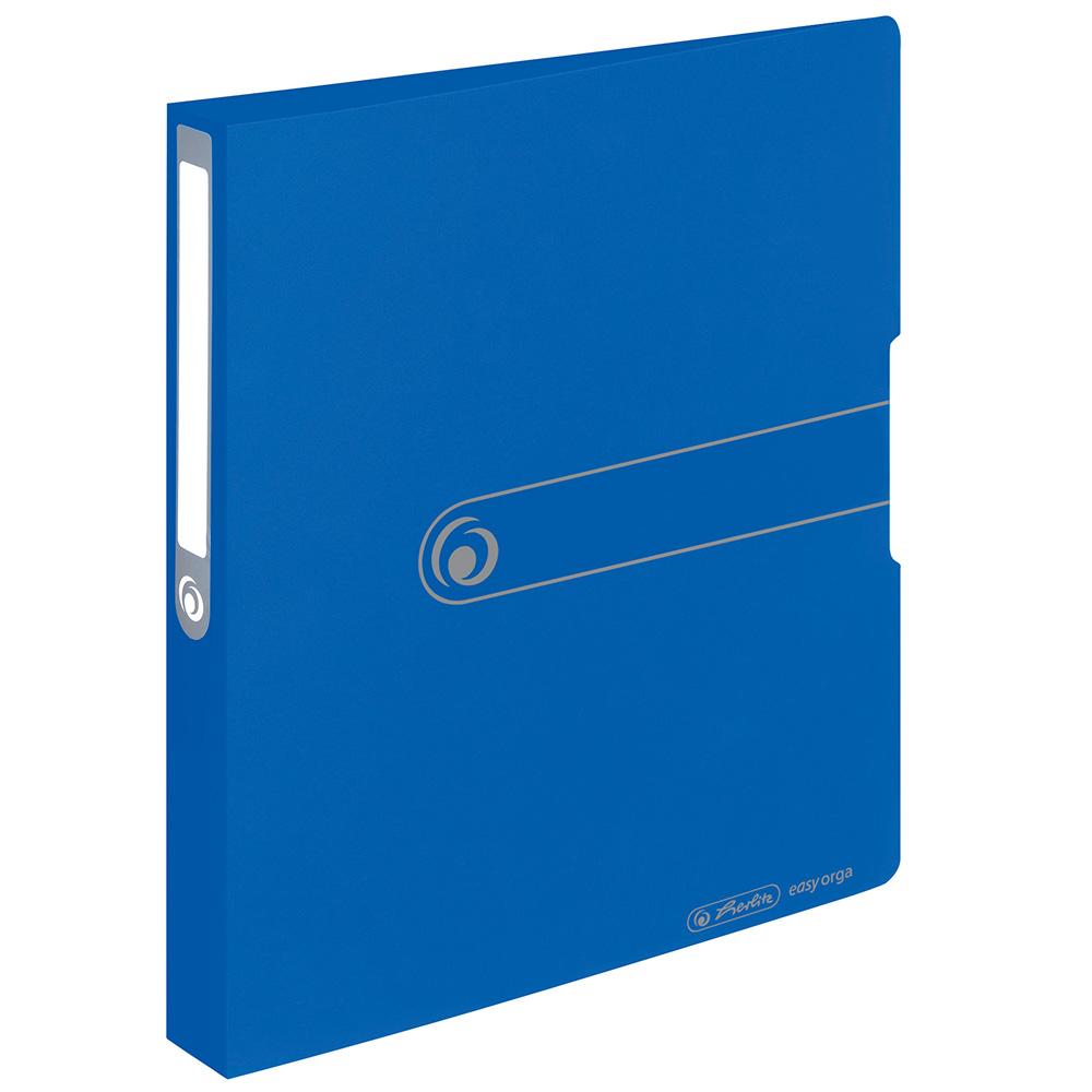 Herlitz Ringbuch PP A4 blau 38 mm 2 Ringe