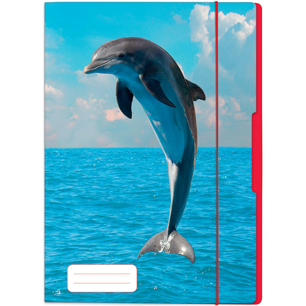 Herlitz Sammelmappe Delfin DIN A3