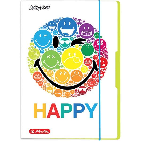 Herlitz Sammelmappe Smileyworld Rainbow DIN A4