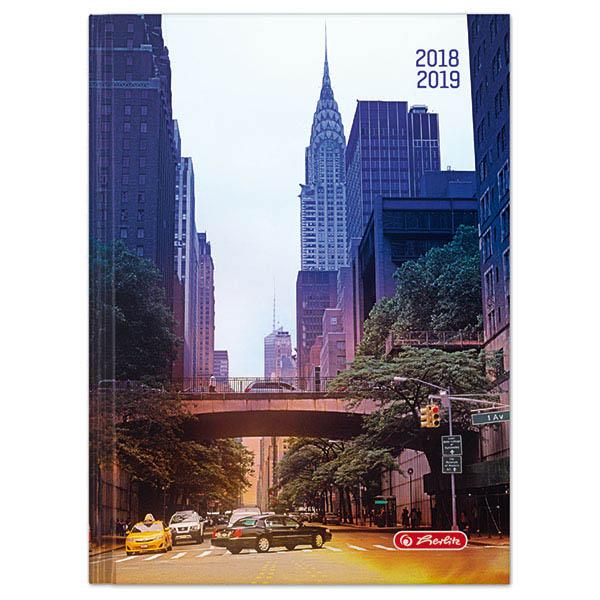 Herlitz Schülerkalender Basic A5 Chrysler Building 2018/2019