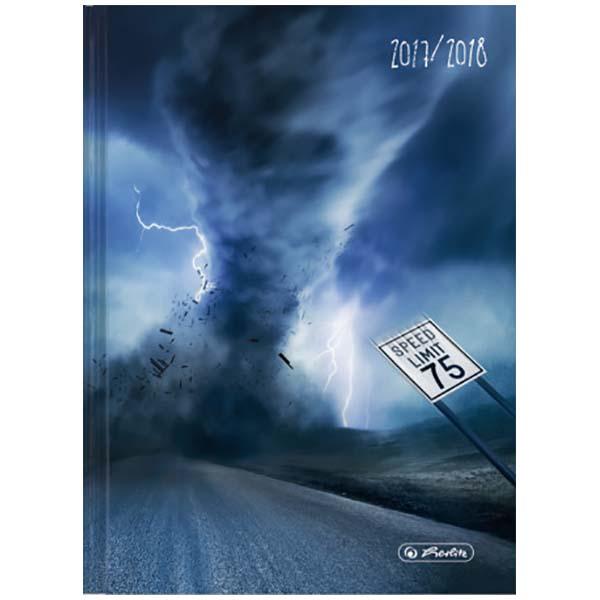 Herlitz Schülerkalender Basic Wirbelsturm 2017/2018