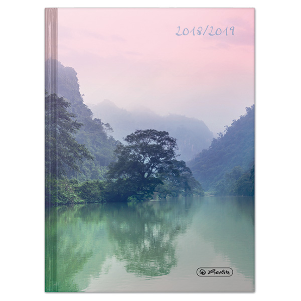 Herlitz Schülerkalender Basic A5 Lake 2018/2019