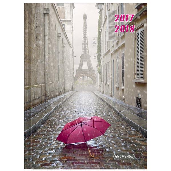 Herlitz Schülerkalender Coole Köpfe Paris 2017/2018