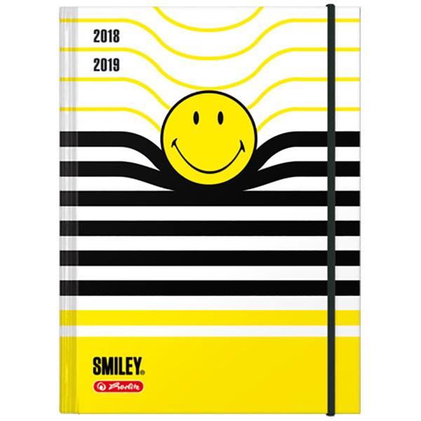 Herlitz Schülerkalender SmileyWorld A5 Jalousie 2018/2019