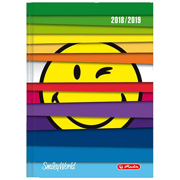 Herlitz Schülerkalender SmileyWorld A6 Jalousie 2018/2019
