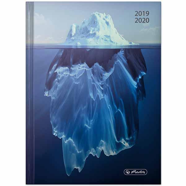 Herlitz Schülerkalender Basic A5 Eisberg 2019/2020
