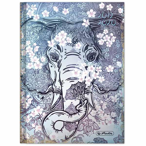 Herlitz Schülerkalender Legend A5 Elefant 2019/2020