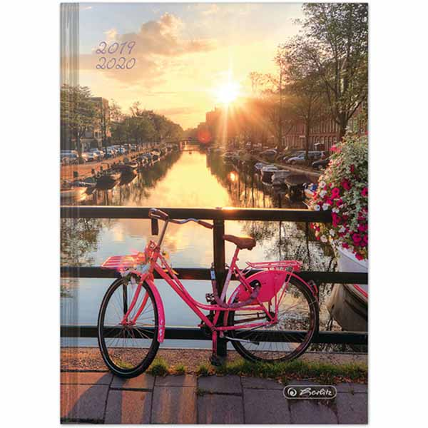 Herlitz Schülerkalender Legend A5 Fahrrad 2019/2020