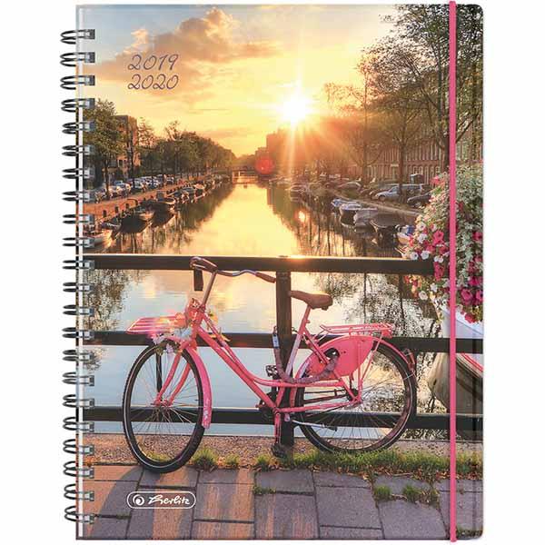 Herlitz Schülerkalender MustHave A5 Fahrrad 2019/2020