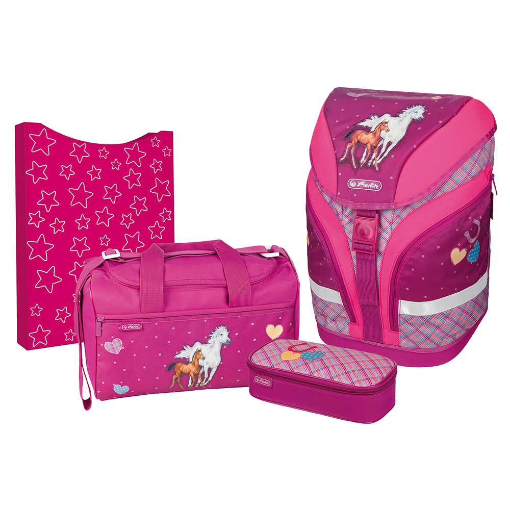 Herlitz Schulrucksack Motion Plus Spirit 4er-Set