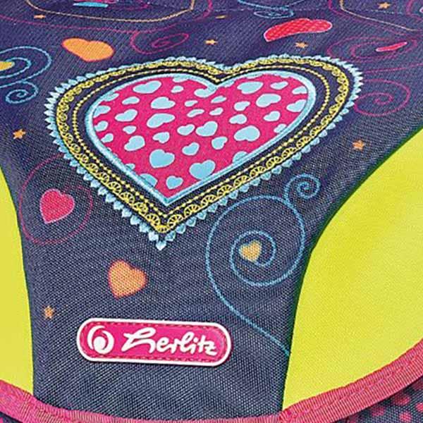 3383462394a73 Herlitz Schulrucksack Motion Plus Hearts 4er-Set