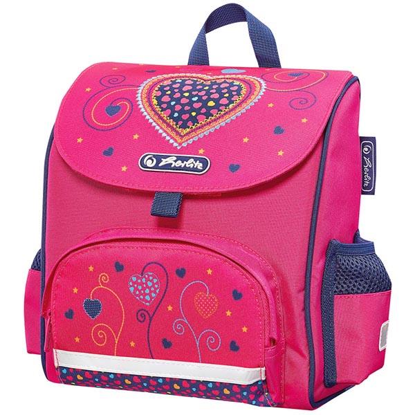 Herlitz Vorschulranzen Pink Hearts Mini Softbag