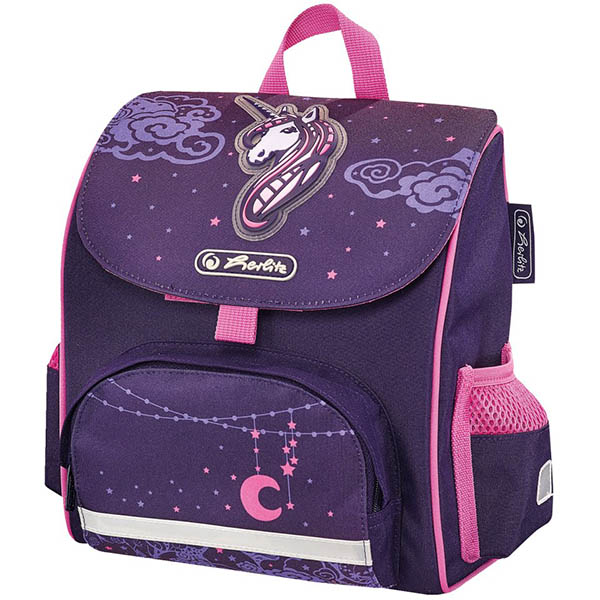 Herlitz Vorschulranzen Unicorn Night Mini Softbag