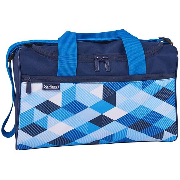 Herlitz Sporttasche Blue Cubes