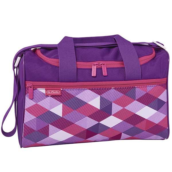 Herlitz Sporttasche Pink Cubes