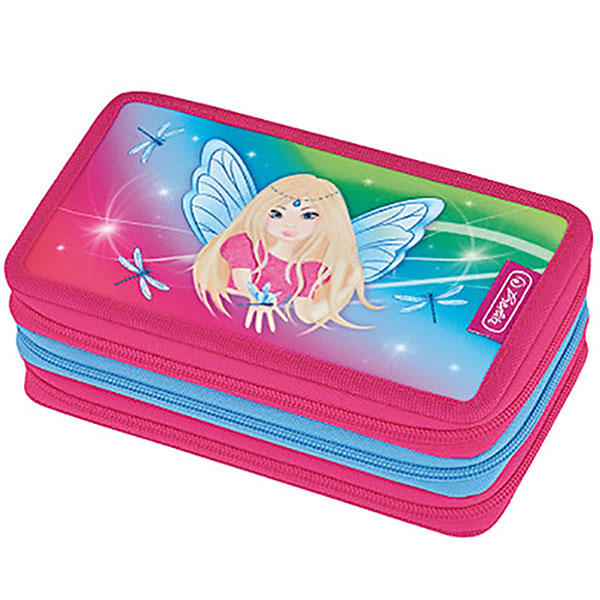 Herlitz Federmappe Triple Decker Etui Rainbow Fairy