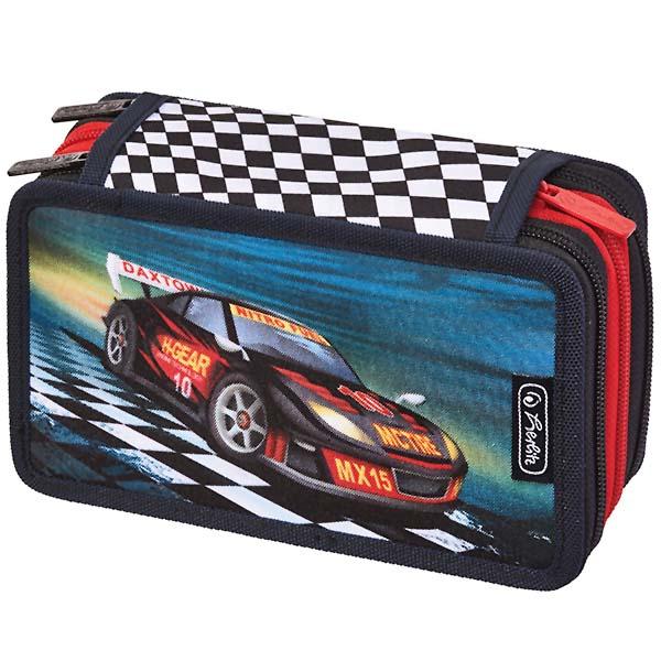 Herlitz Triple Etui Super Racer 31-teilig