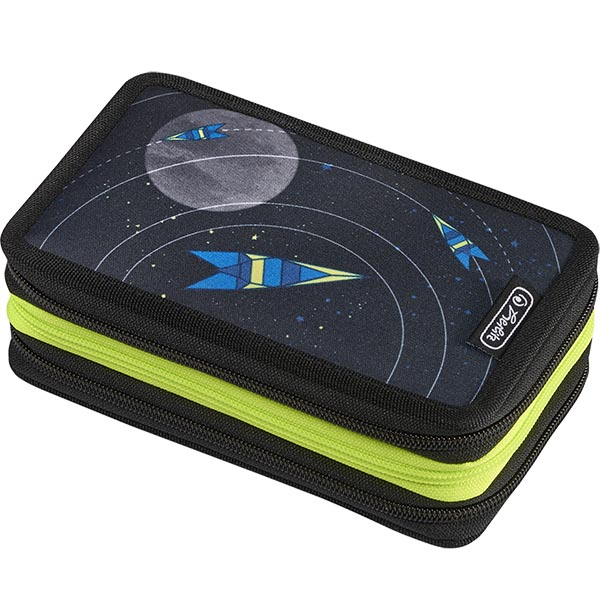 Herlitz Federmappe Triple Decker Etui Space 31-teilig