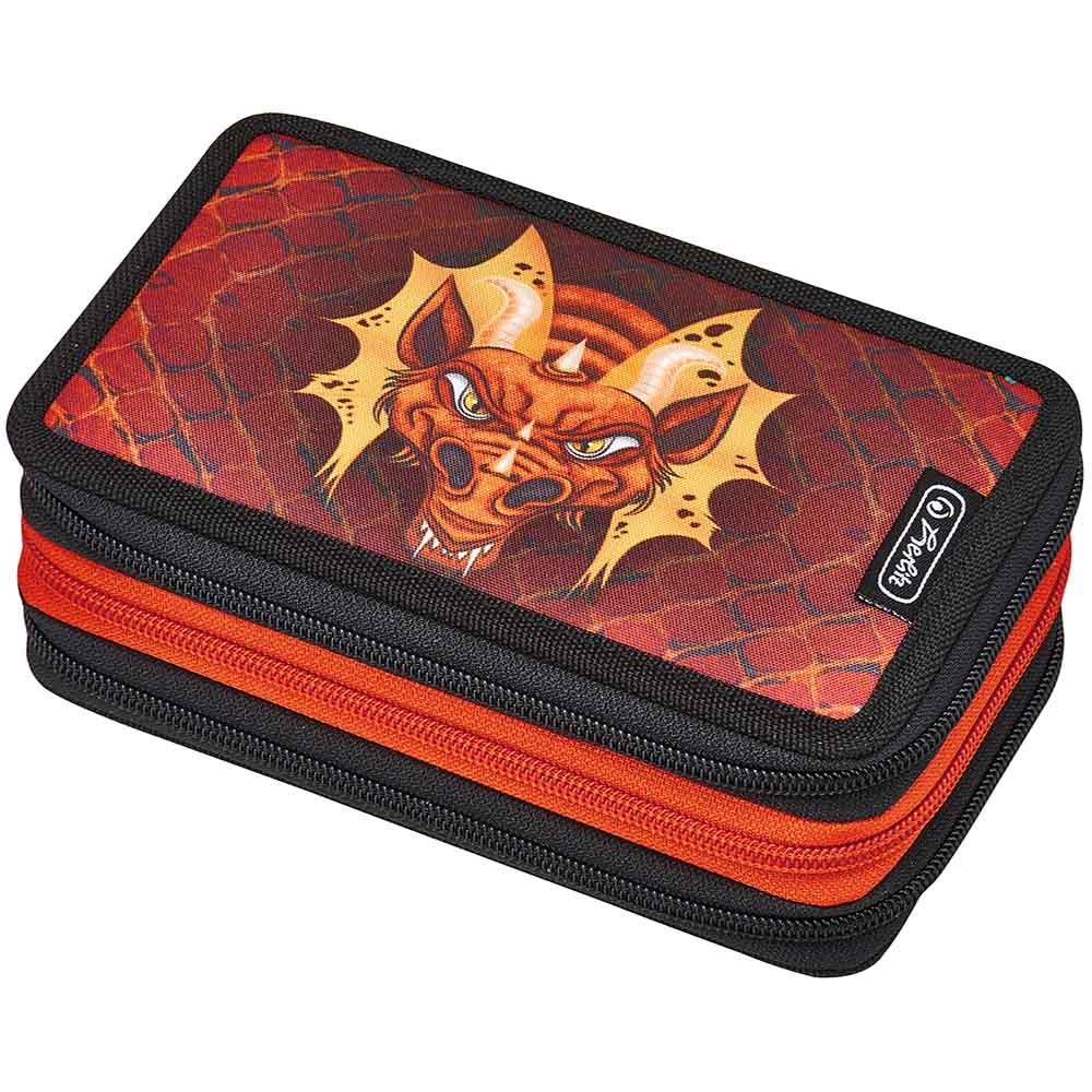 Herlitz Triple Etui Dragon 31-teilig