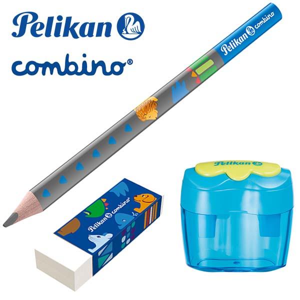 Pelikan Combino 3er-Set blau