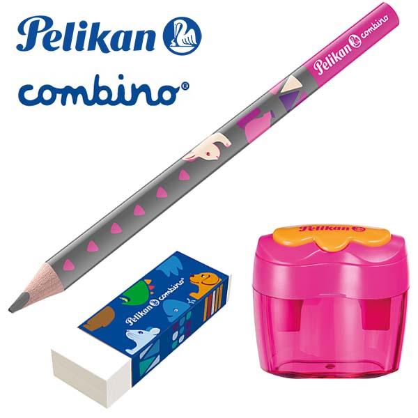 Pelikan Combino 3er-Set pink