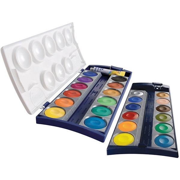 Pelikan Deckfarbkasten K24 mit 24 Farben