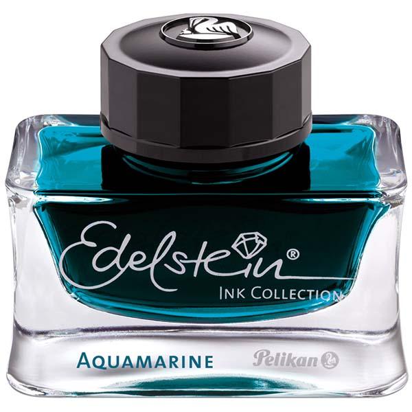 Pelikan Tintenglas Edelstein Tinte Aquamarine türkis 50 ml