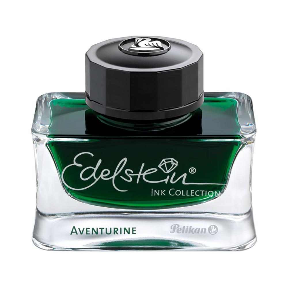 Pelikan Tintenglas Edelstein Tinte Aventurine grün 50 ml