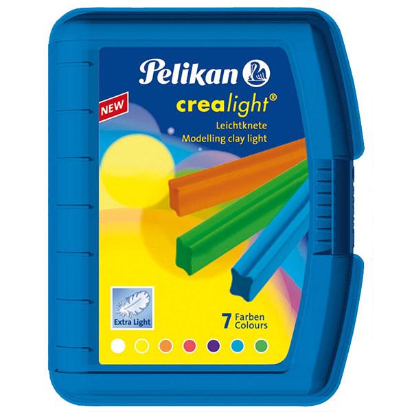 Pelikan Knete Crealight 7 Farben blau