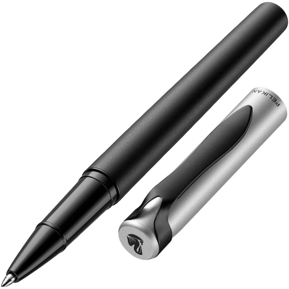 Pelikan Stola II Tintenroller schwarz silber