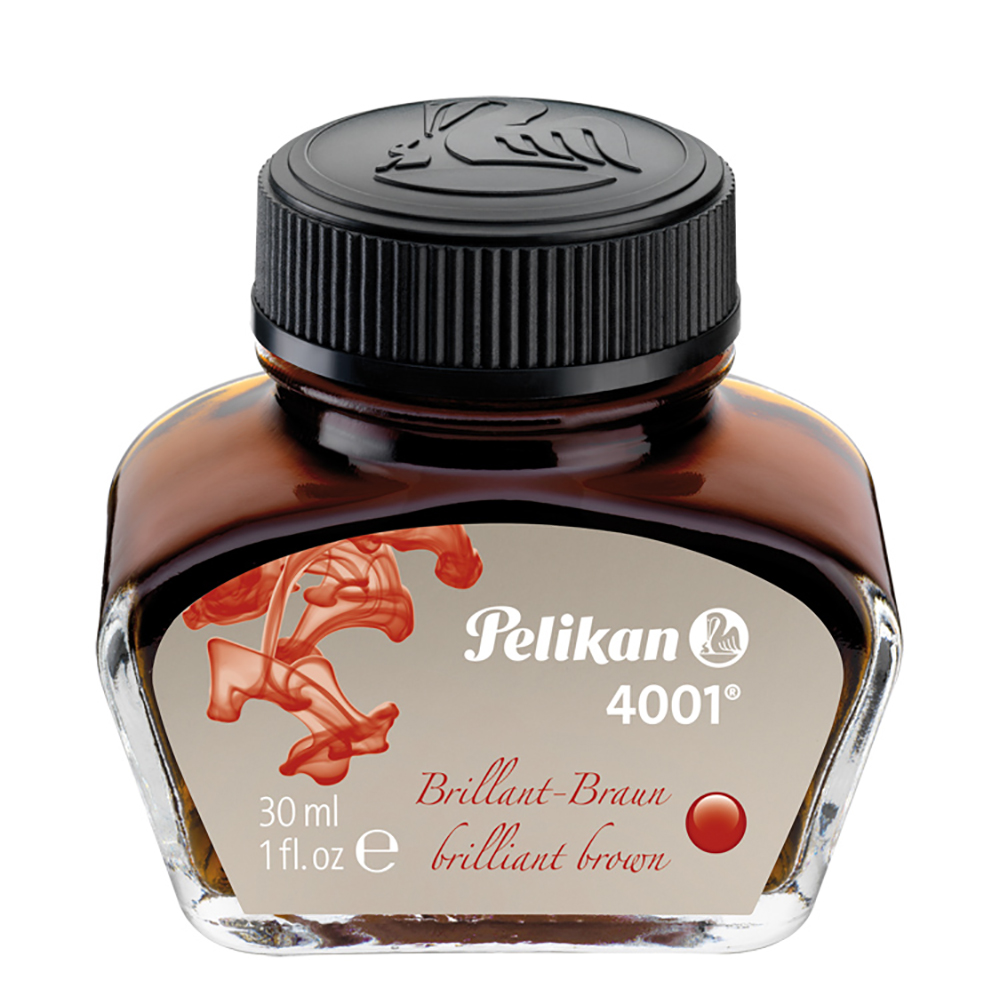Pelikan Tinte 4001 Brillant braun 30 ml