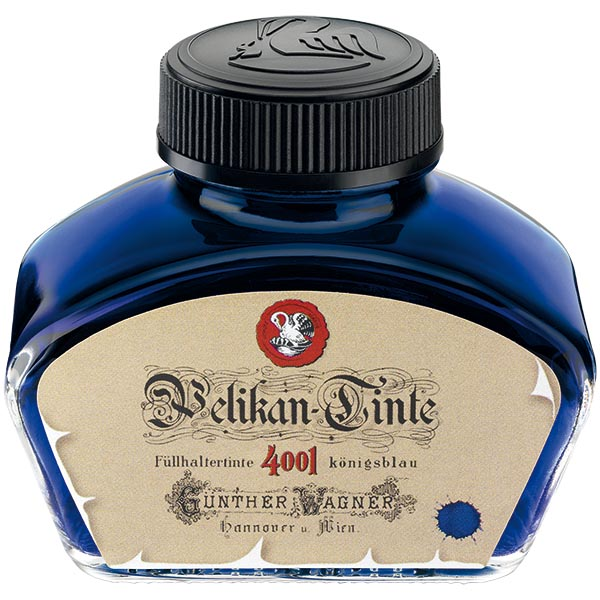 Pelikan Tintenglas Tinte 4001R Königsblau historisch 62,5 ml